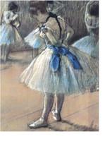 Dance Class, by Edgar Degas.  Blue Tutus, Ballet, dance, recital, baller... - $23.99