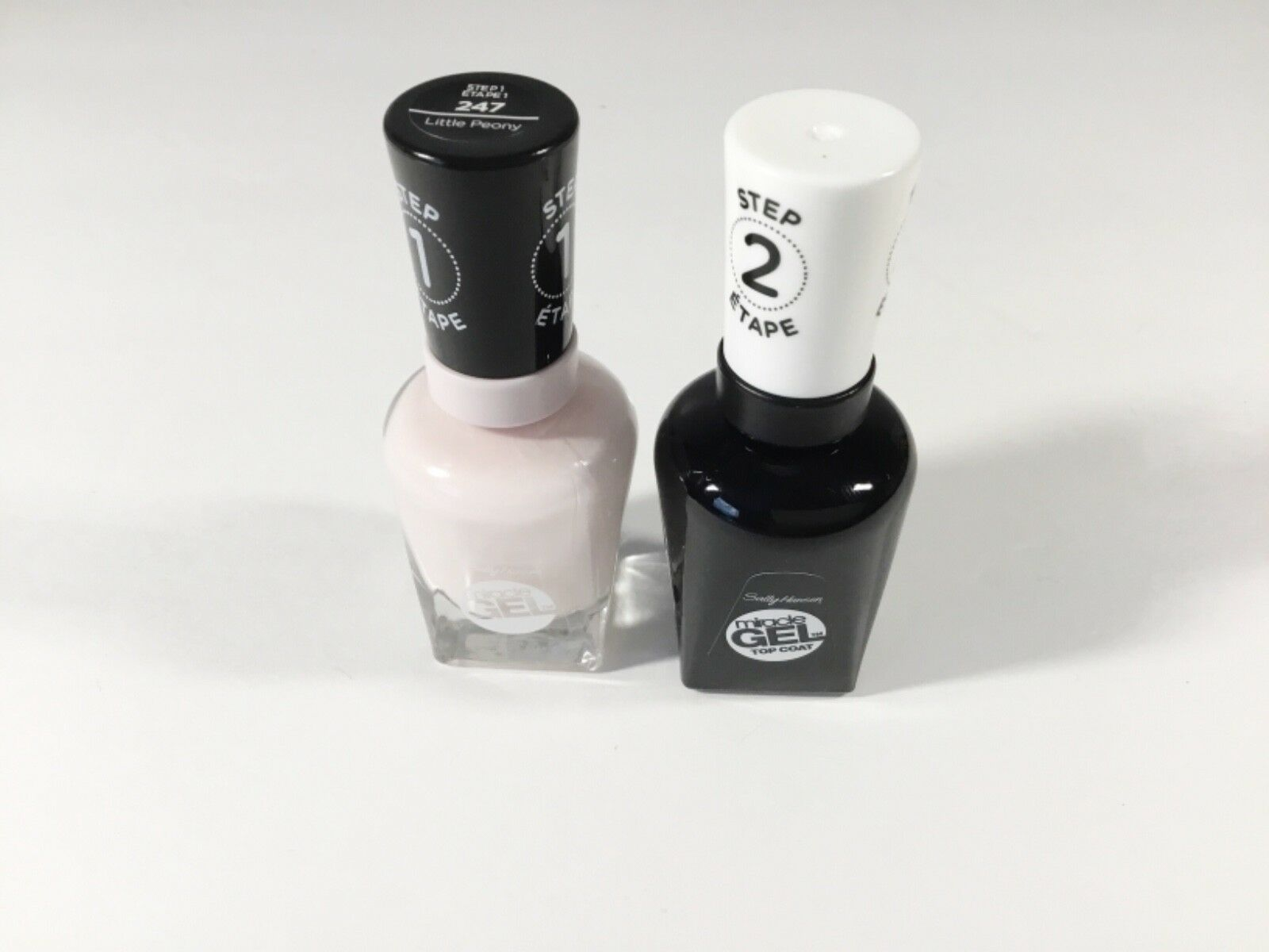 Sally Hansen Miracle Gel Nail Polish, and Top Coat Choice Colors