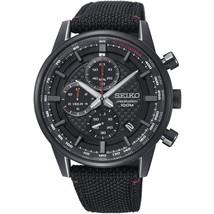 Seiko Chronograph Black Dial Men's Watch SSB315P1 - $195.00
