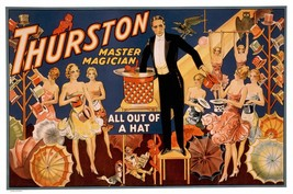 Magic Prints: Thurston All Out Of A Hat - $12.82+
