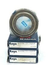 LOT OF 3 NIB KOYO 6006-ZZC3GXM BALL BEARING 30X55X13MM SHIELDED DEEP GROOVE image 1