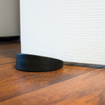 Doree Black Door Stop, black round,rubber & plastic 3.5 in diameter SEALED-NEW image 6