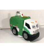 Real Workin Buddies Mr. Dusty Super Duper Toy Eating Garbage Truck Lego ... - $39.59