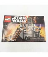 Lego 75137 Star Wars Carbone Congélation Chambre Instruction Manuel - $4.93