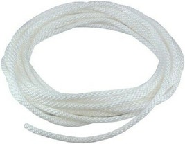 100' Ft 5/16'' Braided White Nylon Flagpole Halyard (Rope) - $36.85