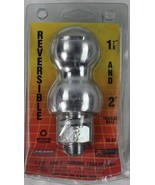 """NEW ACME Dual Size Reversible Trailer Ball 1-7/8"""" Plus 2"""" Ball In One Unit - $12.25"""