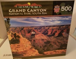 Master Pieces, National Park ~ Grand Canyon South Rim ~ 500 Piece Puzzle - Used - $14.84