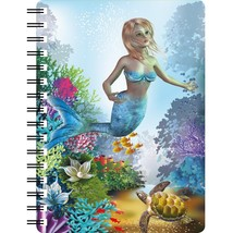 Mermaid with Turtle 3D Notebook,  - $6.76 CAD