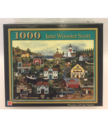Jane Wooster Scott puzzle Wonders Of Our Nation 1000 pc patriotic summer... - $3.00