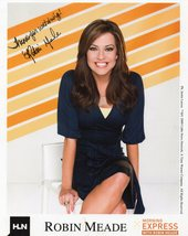 8 x 10 Autographed Photo of Robin Meade (REPRINT) - $6.99