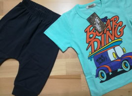 Cotton Kids Boys Set T-shirt and Shorts/ High Quality/ Cartoon - $12.30