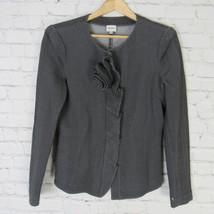 Armani Collezioni Jacke Blazer Damen Größe 10 Grau - $58.49