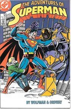 The Adventures of Superman Comic Book #429 DC Comics 1987 NEAR MINT UNREAD - $2.99