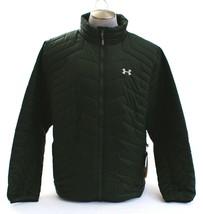 Under Armour Coldgear Storm Reactor Dark Green Magzip Puffer Jacket Men'... - $149.99