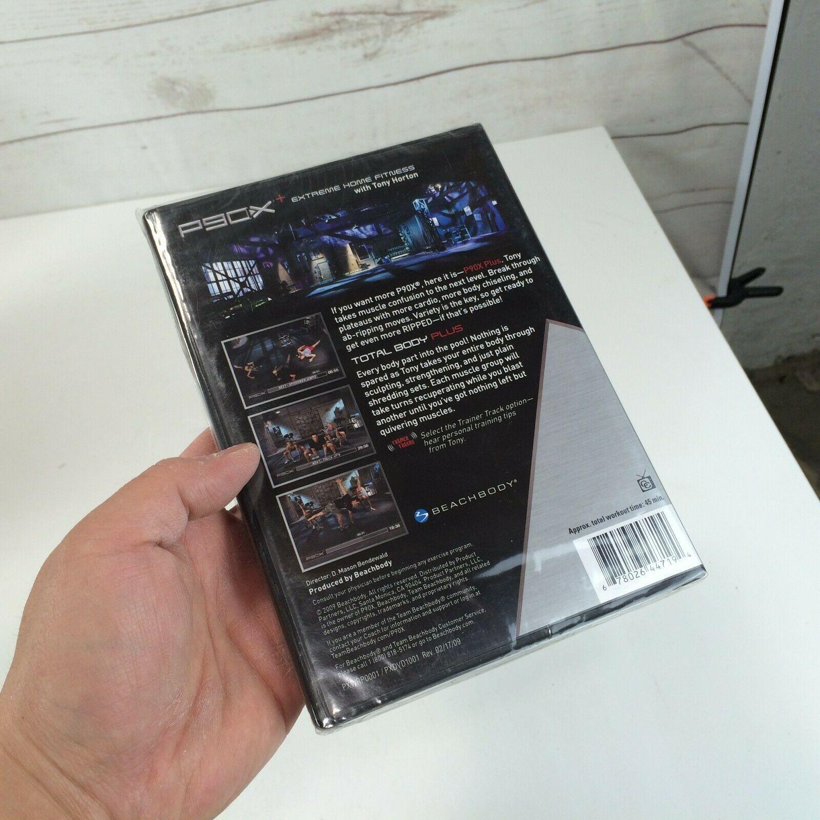 BEACHBODY P90X+ Extreme Home Fitness Total Body Plus with Tony Horton DVD NEW image 2