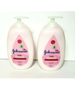 2xJohnsons Baby Liquid Cream Pink Hypoallergenic No Dyes Phthalates 16.9oz - $38.59