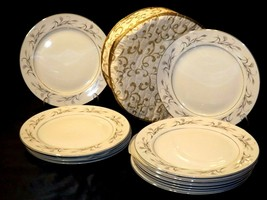 Harmony House Fine China Made in Japan Platinum Garland AA20-2237d 12 – Dinner P