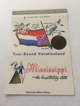 Vintage Matchbook Cover Matchcover Mississippi State MI 40 Strike - $5.70