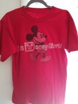 Walt Disney World Mickey Mouse t-shirt Size Med  - $7.92