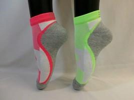 C9 Champion Premium Women's 6pk Low Cut Reflective Running Socks Pink/Gr... - $9.89