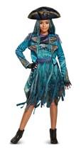 Disney Descendants 2 Deluxe Uma Costume includes Hat / gloves SMALL 4-6  - £21.54 GBP