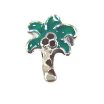 Palm Tree Charm for Floating Locket (LCHM-192) - $0.99