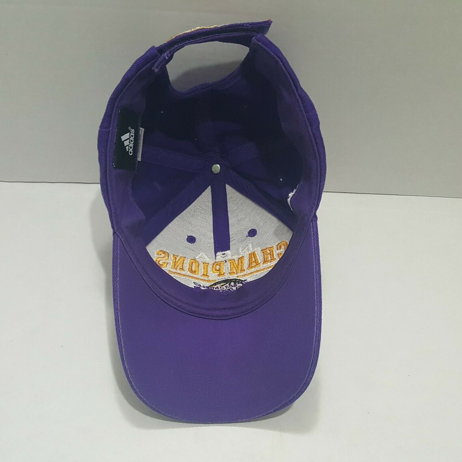 L A Lakers Adidas 15 Time Championship Hat Size Universal