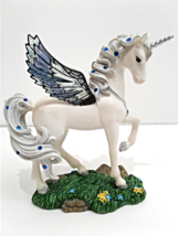 Jeweled Reflections Mystical Unicorn Collectibl... - $34.99