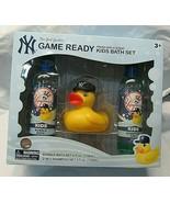 Boys Blue New York Yankees Game Ready Apple Scent Bubble Bath Shampoo Du... - $14.98