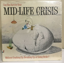 New - Mid-Life Crisis Board Game 1982 (Can You Survive?) Vintage - $15.19