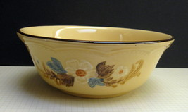 "Franciscan Bouquet (Tan Background) 8"" Round Vegetable Bowl - Hard-to-Find - $24.00"