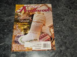 McCall's Needlework Magazine December 1995 Picturesque Patterns - $2.69