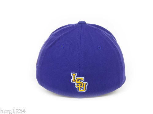 "TOW NCAA ""THE BREAK UP"" HAT/CAP - UNIVERSITY OF LOUISIANA  LSU TIGERS - OSFM"