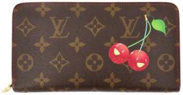 LOUIS VUITTON Monogram canvas Cherry Porte Monnaie Long Wallet M95006 Fr... - $600.00