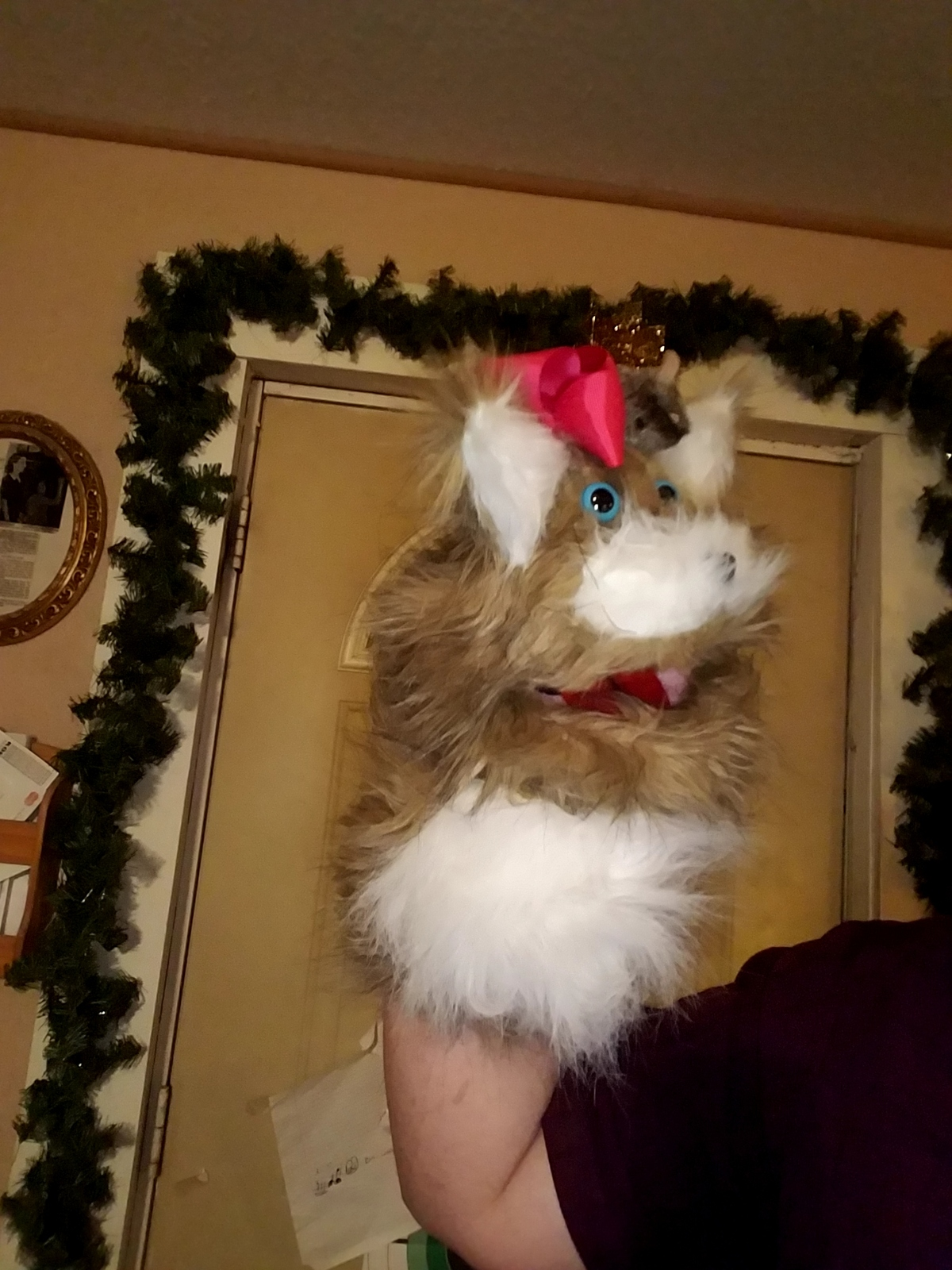 """MADE TO ORDER: Professional """"Cat or Dog"""" Muppet Style Ventriloquist Puppet"""