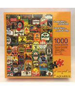 Aquarius jigsaw puzzle Beer Choices 1000 piece sealed new - $5.00