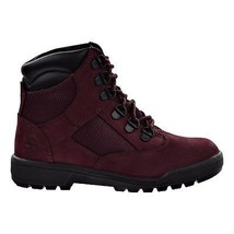 Timberland Little Kids 6 Inch Field Boot Burgundy A1ATO - $1.613,33 MXN
