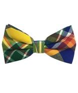 Mens Cotton Adjustable Tuxedo Handmade Pre-tied Bowtie Multi Color  - $22.09