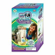 Self Cleaning Aquarium My Fun FISH TANK Complete Kit with Light-Small Fi... - $9.85