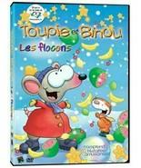 Toopy and Binoo Toupie et Binoo les flocons Children's DVD New and Sealed  - $10.78