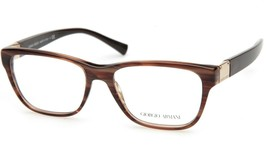 New GIORGIO ARMANI AR7049 5292 BROWN EYEGLASSES FRAME 53-16-140mm B40mm ... - $74.23