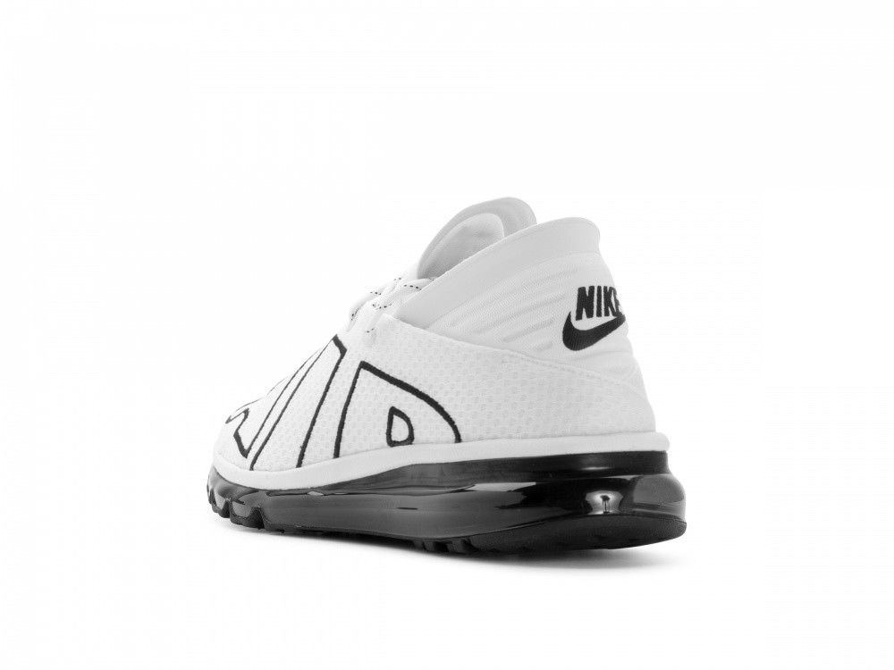 timeless design aa5e3 4c700 ... Nike Air Max Flair White/Black Running Sneakers Size 8.5 UK 43 EU  Trainers New ...