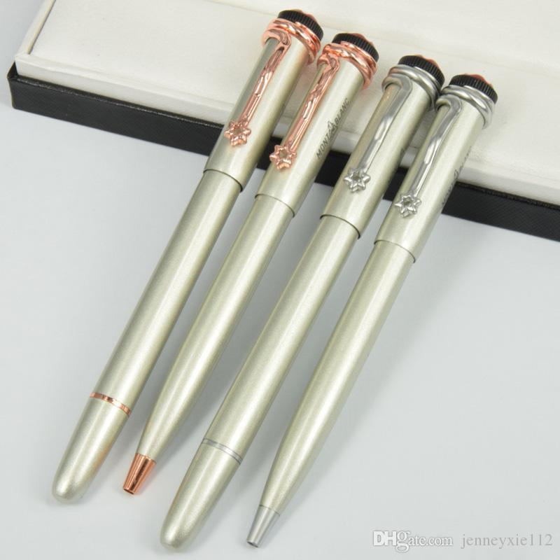High Quality Luxury 1912 series silver Roller Ball Pen Office Supplies Roller ba