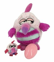 Koo Koo Bird With Hidden Egg Baby Plush Sound Pink 10 Inch Jay At Play 3+ - $13.54