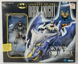 Batman Legends of the Dark Knight Skywing Street Bike & Figure Kenner 1996 - $49.97