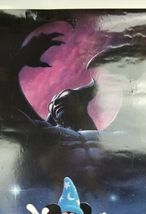 "Fantasia 50th Anniversary Double Sided Movie Poster 41""x27"" Original Rolled Ship image 9"