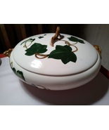 """Metlox California Ivy Hand Painted PoppyTrail Round Covered Vegetable Bowl 9.5"""" - $40.00"""