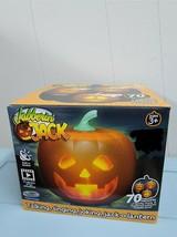 Jabberin Jack Talking Animated Pumpkin with Built In Projector Speaker H... - $69.99