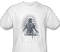 The Thing T-shirt retro classic horror sci-fi movie cotton graphic tee UNI156 image 1