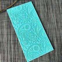 Silicone Lace Mat Cake Bakery Decorating Tool Fondant Mold Paisley Silic... - $18.76